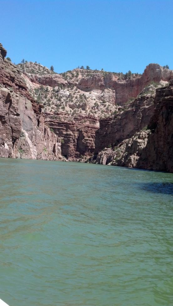 Fremont Canyon - Alcova Lake