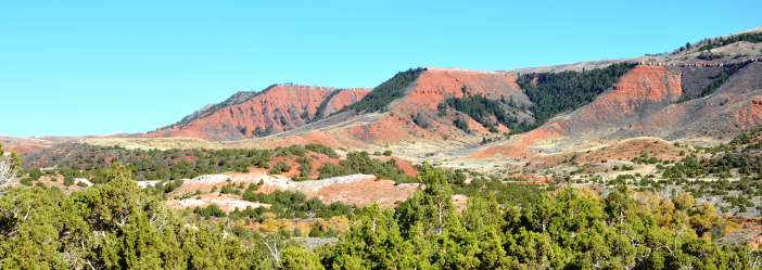 Red Hills Near Muddy Mountain